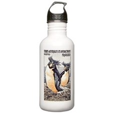 French Antarctica Penguin Stamp 1956 Water Bottle