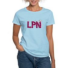 LPN fuschia and polka dots.PNG T-Shirt