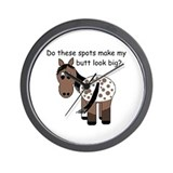Big Butt Appy Wall Clock
