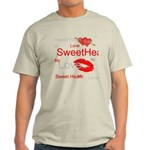 OYOOS Swee Heart design Light T-Shirt