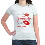OYOOS Swee Heart design Jr. Ringer T-Shirt