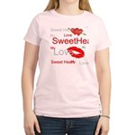 OYOOS Swee Heart design Women's Light T-Shirt
