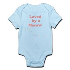 Loved by a Macaw Infant Bodysuit
