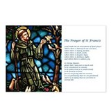 St Francis Postcards (Package of 8)