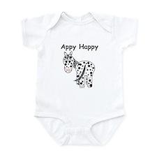 Appy Happy, Leopard Appaloosa Infant Bodysuit