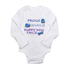 Funny Snail Long Sleeve Infant Bodysuit