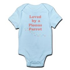 Loved by a Pionus Parrot Infant Bodysuit