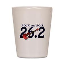 Rock and Roll MArathon Shot Glass