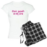 Our goal - 4x800m women indoor PINK.png Pajamas