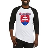 Slovakia Coat of arms Baseball Jersey