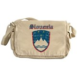 Slovenia Coat of arms Messenger Bag