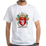 MacKeggan Coat of Arms White T-Shirt