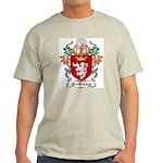 MacKeggan Coat of Arms Ash Grey T-Shirt