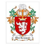 MacKeggan Coat of Arms Small Poster
