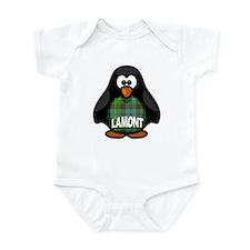 Lamont Tartan Penguin Onesie