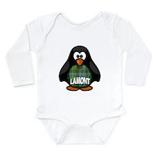 Lamont Tartan Penguin Onesie Romper Suit