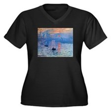 Claude Monet Impression Sunrise Women's Plus Size