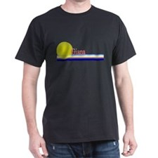 Giana Black T-Shirt