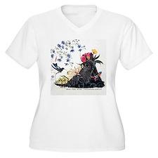 Scottish Terrier and Hummingbird T-Shirt