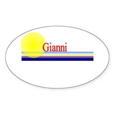 Gianni Oval Decal