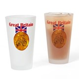 British Cycling Gold Medal Drinking Glass