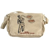 Zombie Bacon Messenger Bag