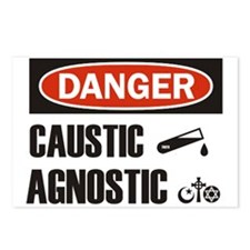 Danger Caustic Agnostic Postcards (Package of 8)