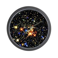 Distant Luminous Stars Wall Clock