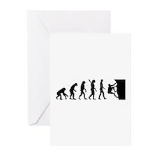 Evolution climbing Greeting Cards (Pk of 20)