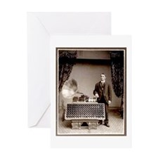 The Phonograph Greeting Card