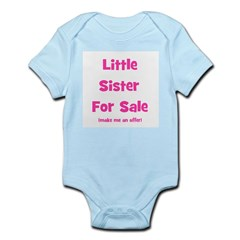 Little Sister For Sale Infant Creeper