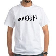 Evolution fishing man Shirt