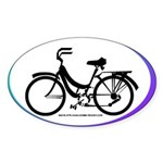 Bicycle Decal Sticker (Oval)