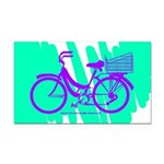 Mamachari Decal 80s Wave Rectangle Car Magnet