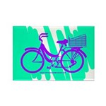 Mamachari Decal 80s Wave Rectangle Magnet