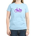 Purple Bike - Awesome! Women's Light T-Shirt