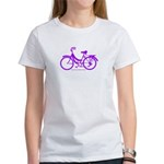 Purple Bike - Awesome! Women's T-Shirt
