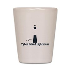 Tybee Island GA - Lighthouse Design. Shot Glass