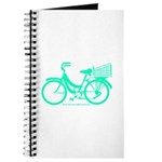Cycling Cyclists - Teal Bike Journal