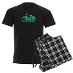 Teal Bicycle Sans basket Men's Dark Pajamas