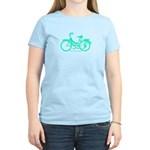 Teal Bicycle Sans basket Women's Light T-Shirt