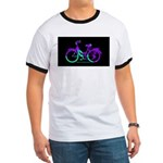 80s Style Bicycling Stivker Ringer T