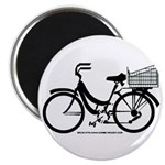Bicycle Design With Basket Magnet