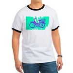 Mamachari Decal 80s Wave Ringer T