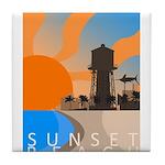 sunset_beach_travel2.png Tile Coaster