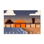 seal_beach_travel3.png Mini Poster Print