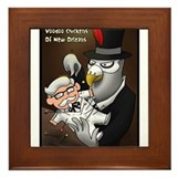 Voo Doo Chickens Of New Orleans Framed Tile