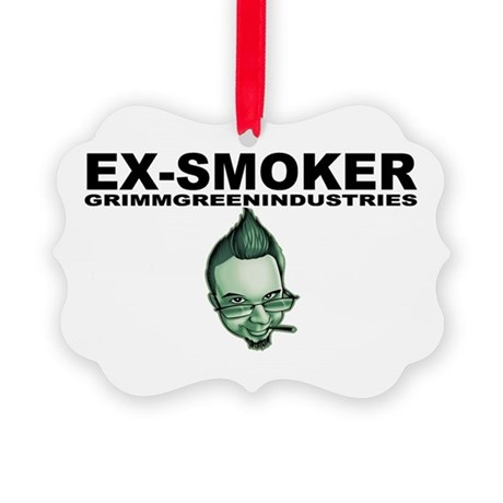Ex-Smoker Picture Ornament