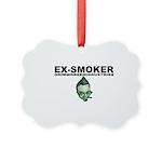 Ex-Smoker Picture Ornament