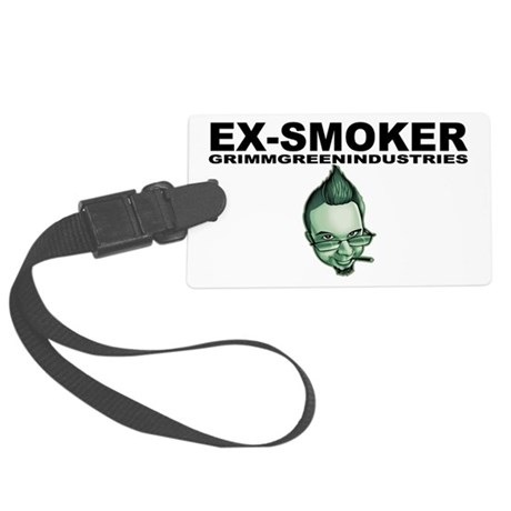 Ex-Smoker Large Luggage Tag
